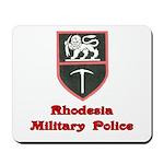 Rhodesia Military Police Mousepad