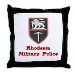 Rhodesia Military Police Throw Pillow