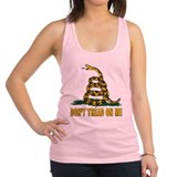 dont thread onme bs.png Racerback Tank Top
