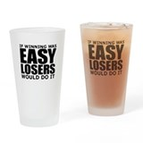 Easy Losers Drinking Glass