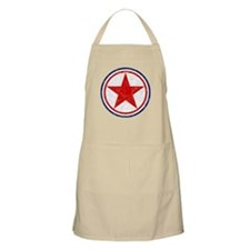 North Korea Roundel Apron
