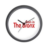 Born in The Bronx Wall Clock
