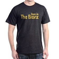 Born in The Bronx Black T-Shirt