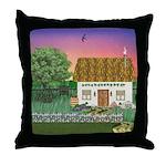 Sunrise Cottage Throw Pillow