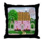Valentine's Day Cottage Throw Pillow