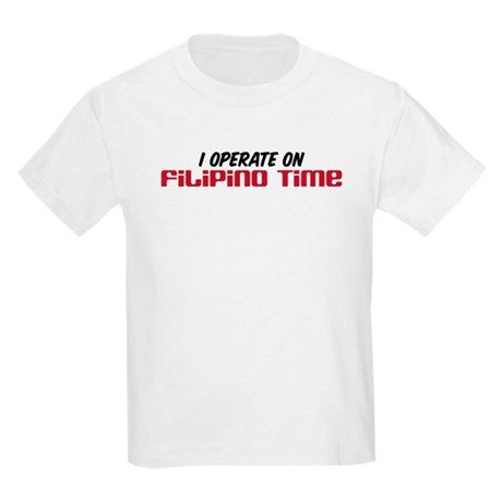 Filipino Time Kids T-Shirt