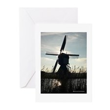 Dutch Windmill Greeting Cards (Pk of 20)