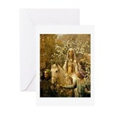 Guinevere Maying by Collier Greeting Card