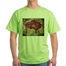Vintage Bison Prehistoric Cave Painting T-Shirt