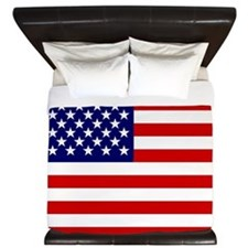 American flag King Duvet