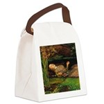 Ophelia by Millais Canvas Lunch Bag