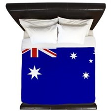 Australian flag King Duvet
