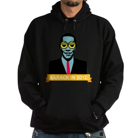 Pop Art Obama Black Hoodie
