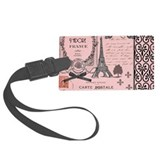 Paris Luggage Tags