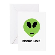 Alien Greeting Cards (Pk of 10)