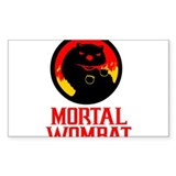 Mortal Wombat Decal