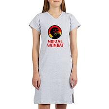 Mortal Wombat Women's Nightshirt