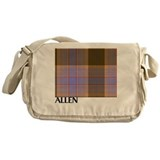 Allen Hunting Tartan Messenger Bag