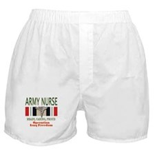 Army Nurse Boxer Shorts