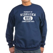 Property of Nebraska the Cornhuskers State Sweatsh