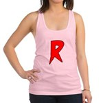 super ray.png Racerback Tank Top