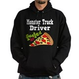 Monster Truck Driver Pizza Hoody