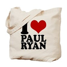 i heart Paul Ryan Tote Bag