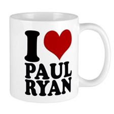 i heart Paul Ryan Mug