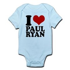 i heart Paul Ryan Infant Bodysuit