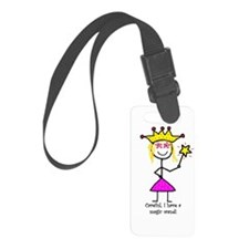 Princessitude! Magic Wand Luggage Tag