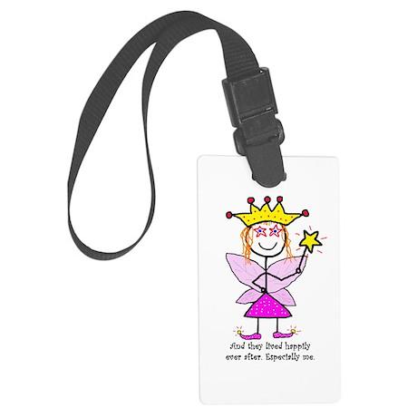 Fairy Princessitude! Me! Large Luggage Tag