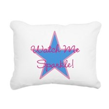 Watch Me Sparkle 2 Rectangular Canvas Pillow