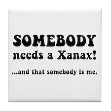 Xanax Tile Coaster