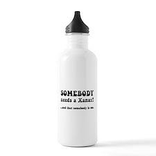Xanax Water Bottle
