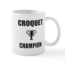 croquet champ Small Mug