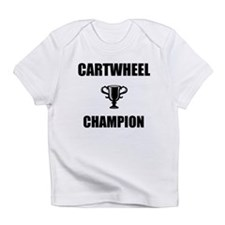 cartwheel champ Infant T-Shirt