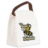 Beez kneez Canvas Lunch Bag