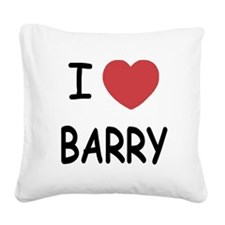 BARRY.png Square Canvas Pillow