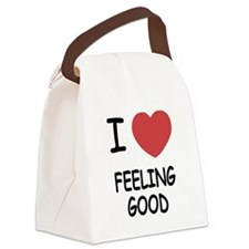 FEELING_GOOD.png Canvas Lunch Bag