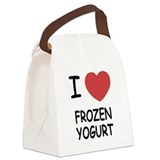 FROZEN_YOGURT.png Canvas Lunch Bag