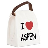 ASPEN.png Canvas Lunch Bag