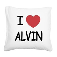 ALVIN01.png Square Canvas Pillow