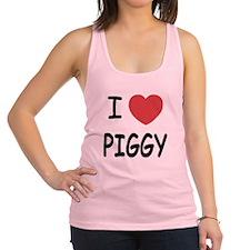 PIGGY01.png Racerback Tank Top