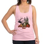 bull elk buck boys club.png Racerback Tank Top