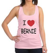 I heart BERNIE Racerback Tank Top