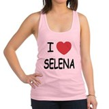 SELENA.png Racerback Tank Top