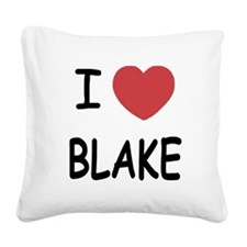 BLAKE.png Square Canvas Pillow