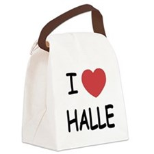 HALLE.png Canvas Lunch Bag