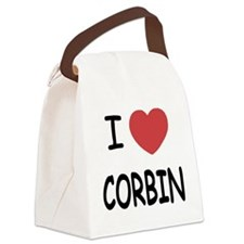 CORBIN.png Canvas Lunch Bag