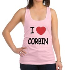 CORBIN.png Racerback Tank Top